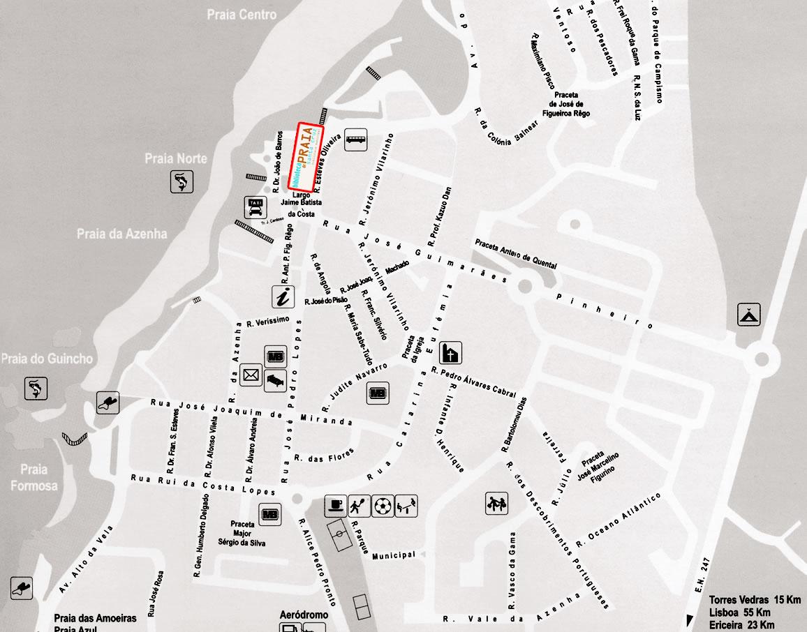 mapa da cidade de torres vedras Biblioteca de Praia   Biblioteca Municipal de Torres Vedras mapa da cidade de torres vedras